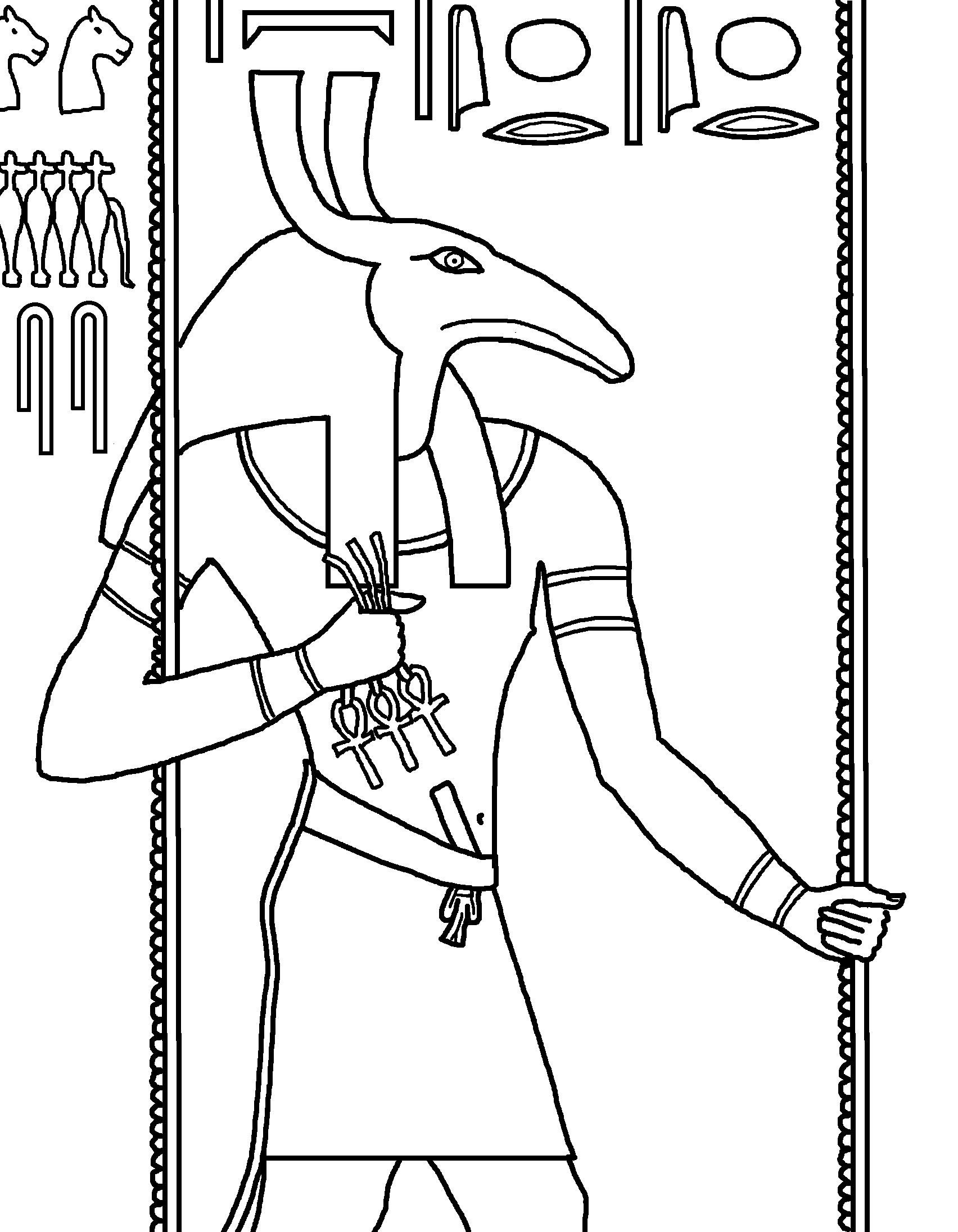 Tuthmosis Iii Drawing Printable Version