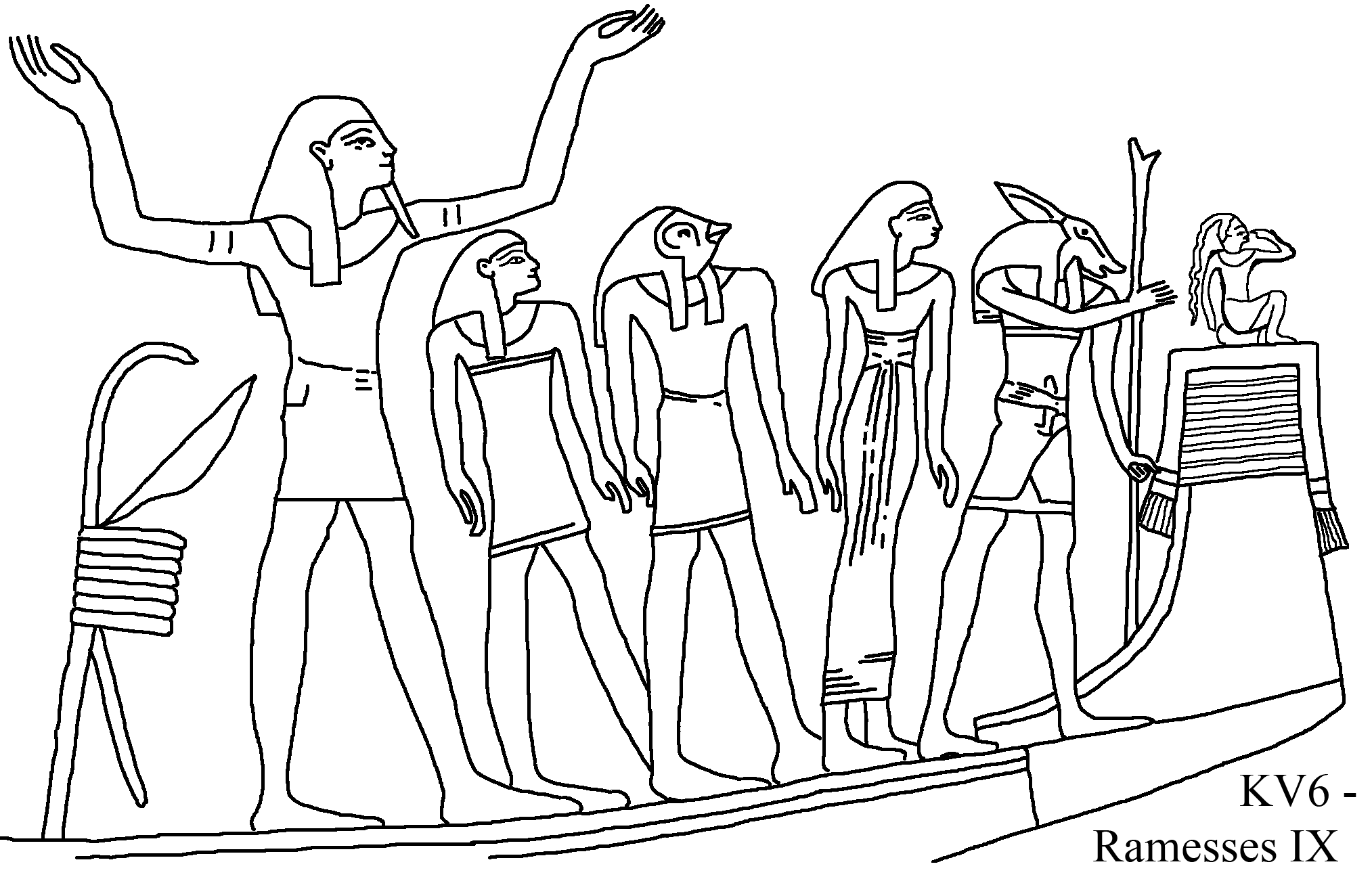 egyptian foods coloring pages - photo#33
